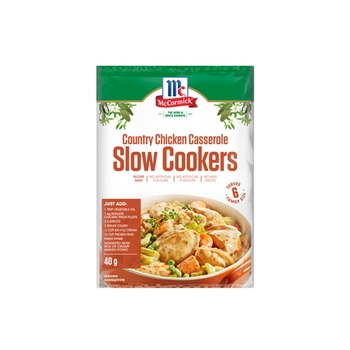 Mccormick Recipe Base Slow Cookers Country Chicken Casserole 40g