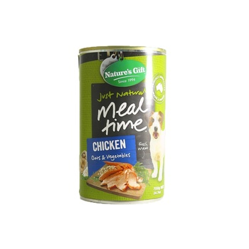 Natures Gift Chicken Oats & Vegetables Dog Food 700g