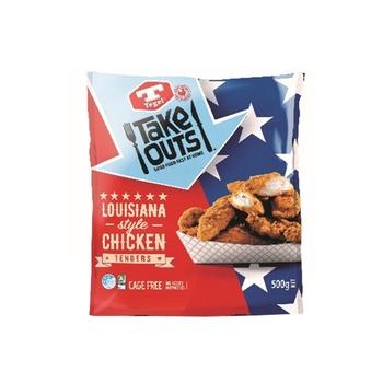 Tegel  Louisiana Style Chicken Tenders 500g