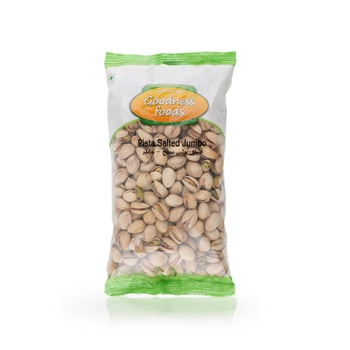 Goodness Foods Pista Salted Jumbo 500g