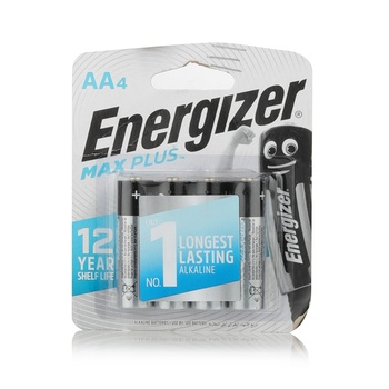 Energizer Maxplus Battery AA (Pack 4)