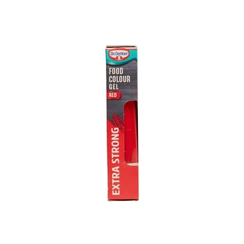 Dr. Oetker red gel colour 15g