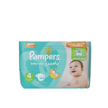 Pampers Active Baby 4 Large (8-14kg) 44pcs
