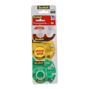 3M Scotch Tapes 3P Val Pack 105+144+136