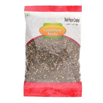 Goodness Foods Black Pepper Crushed 100g