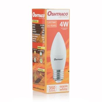 Oshtraco Led Lamp warm white 4 watts -E27