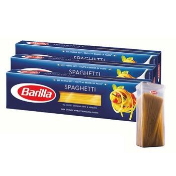 Barilla Spaghetti No. 7 3 x 500g + Gift