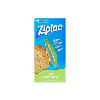 Ziploc Sandwich Bags 100s