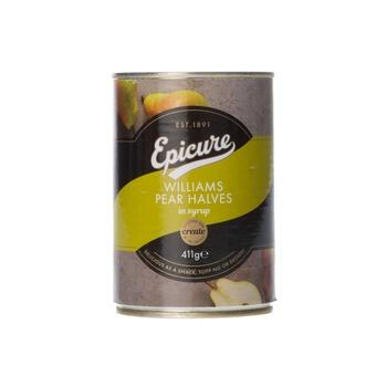 Epicure bartlet pear halves 415g