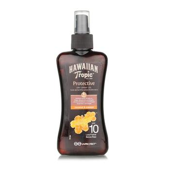 Hawaiian Tropic Protective Dry Spray Oil Spf10 Low 200ml