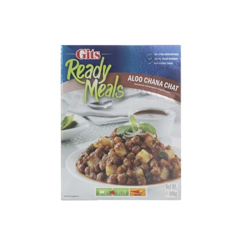 Gits Ready Meal Aloo Chana Chat 300g