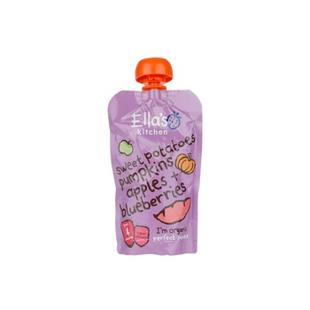 Ellas Organic Sweet Potato Pumpkin Apple & Pears 120g