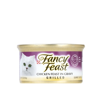 Purina Fancy Chicken Feast In Gravy Grilled 85g