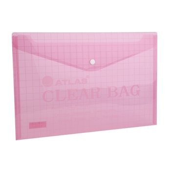Atlas Document Bag - Red