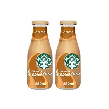 Starbucks Frappuccino Caramel 250ml Pack of 2