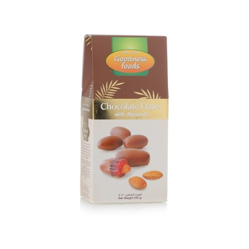 Goodness Foods Chocodates Almond 220g