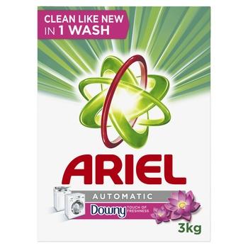 Ariel Automatic Laundry Powder Detergent Touch of Freshness Downy Original 3 kg