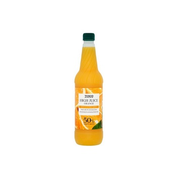 TESCO HIGH JUICEORANGE SQUASH 1L