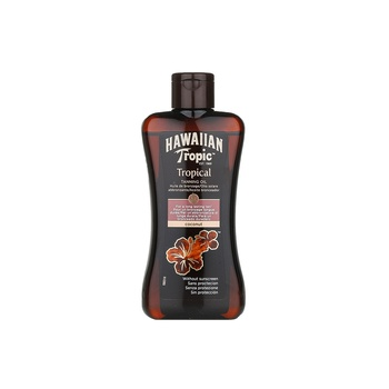 Hawaiian Tropical Tanning Oil Coconut Dark 200ml