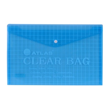 Atlas Document Bag - Clear