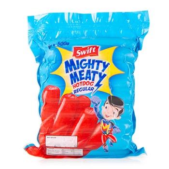 Swift Mighty Meaty Reg. (Pork) 500 Gms.