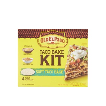 Oldelpaso Dinner Kit Soft Taco Bake 8.4oz