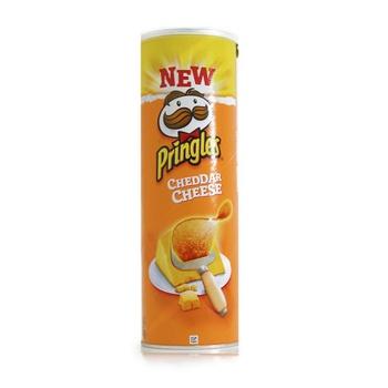 Pringles Potato Chips Cheddar Cheese 165g
