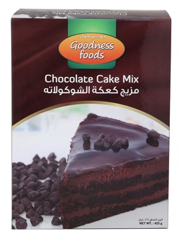 Goodness Foods Chocolate Cake Mix 425g