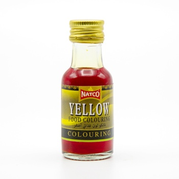 Natco Food Colour Yellow 28ml