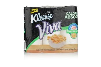 Kleenex Viva Calorie Absorb Kitchen Towel 3 pc