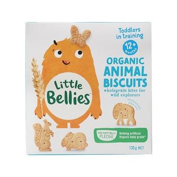 Little Bellies Organic Animal Biscuits (12+ Months) 130g
