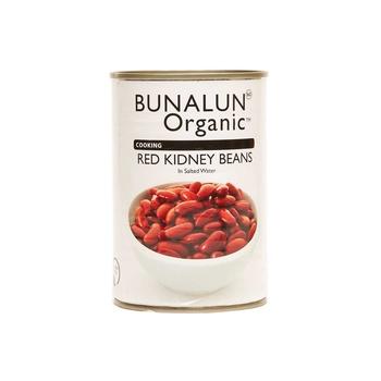 Bunalun Organic Red Kidney Beans 400g