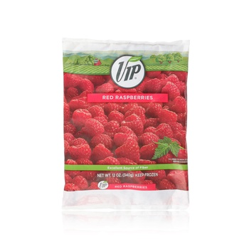 Vip Red Raspberries 340g