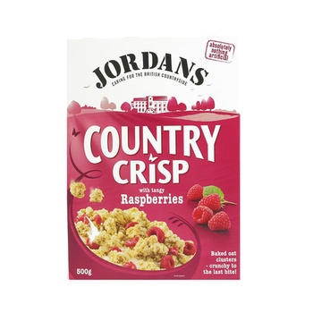 Jordans Cereal County Crisp Raspberries 500g