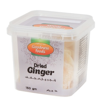 Goodness Foods Dried Ginger 150g