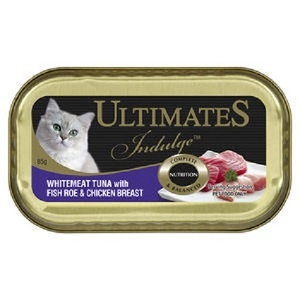 Ulimate Indulge White meat Tuna with Fish Roe & Chicken Breast 85g