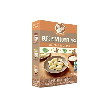 Granny'S Food Dumplings  Ricotta With Spinach 500g
