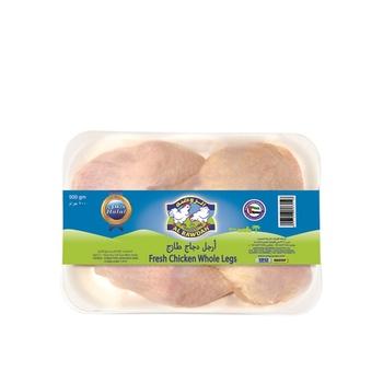 Al Rawdah Fresh Chicken Whole Legs 500g