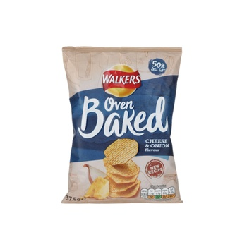 Walkers Baked Cheese & Onion 375g