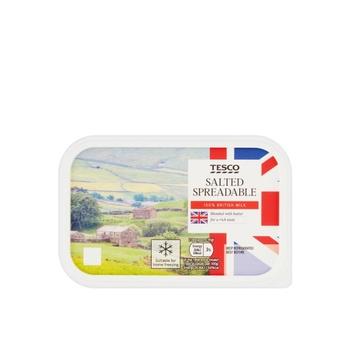 Tesco British Spread Slight Salted 500g