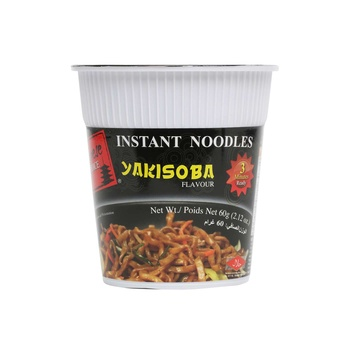 Japanese Choice Instant Cup Noodles Yakisoba Flavour 60g