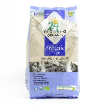 24 Mantra Organic Bajra Flour 500g
