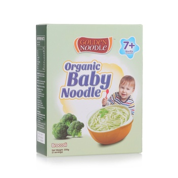 Golden Noodle Organic Baby Broccoli 200g