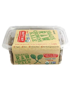 Brads Raw Food Leafy Kale Nasty Hot 70g