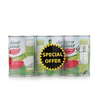 Green Giant Chopped Tomatoes 3 x 400gm @ Special Price