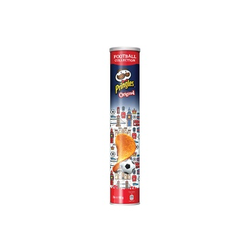 Pringles Tube Eurocup Original England 165g Pack Of 3