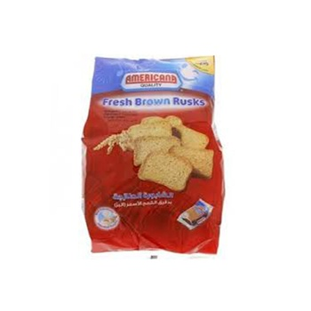 Americana Rusks Brown 400g