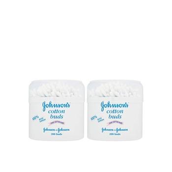 Johnsons Cotton Buds 2 X 200 Buds