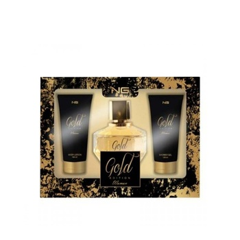 Next Generation Perfumes Gold Edition 3 Piece Gift Set For Women