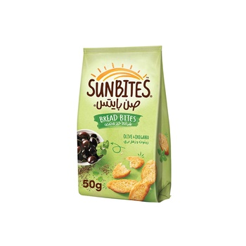 Sunbites Bread Bites Olive & Oregano 50g